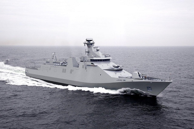 In accordance with the agreed planning in the contract for the construction of a Damen SIGMA Frigate for the Indonesian Navy, the keellaying ceremony has taken place on 16 April 2014 at the PT PAL (Persero) Shipyard in Surabaya, Indonesia. The construction of the 4 modules that are going to be built at PT PAL (Persero) Shipyard Surabaya and the two modules that are being built in Vlissingen, are proceeding according to schedule.
