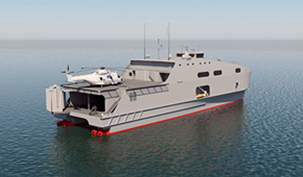 Austal announced earlier this year that it has been awarded a contract from a naval customer in the Middle East for the design, construction and integrated logistics support of two new 72 metre High Speed Support Vessels (HSSVs) based on the U.S. Navy's Joint High Speed Vessels design. It now appears that this customer is the Royal Navy of Oman.