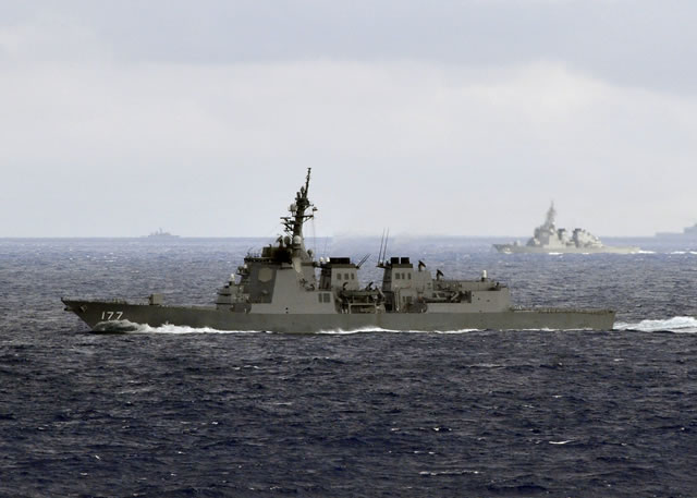 According to Japanese newspaper The Yomiuri Shimbun, the Japanese government will start building two Aegis-equipped destroyers with the latest missile defense systems starting next fiscal year, in light of the progress seen in missile development by North Koreathe. The two new vessel will join an exisiting fleet of 6 Aegis vessels in the Japanese Maritime Self Defense Forces (JMSDF): 4 Kongo class Destroyers and 2 Atago class Destroyers.