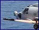 The offensive tactical airborne capability of the Royal Australian Navy was demonstrated recently when 725 Squadron conducted firings of the AGM-114N Hellfire missile from MH-60R Seahawk 'Romeo' helicopters. Commanding Officer 725 Squadron, Commander Matt Royals, said the live firings provide important tactical training.