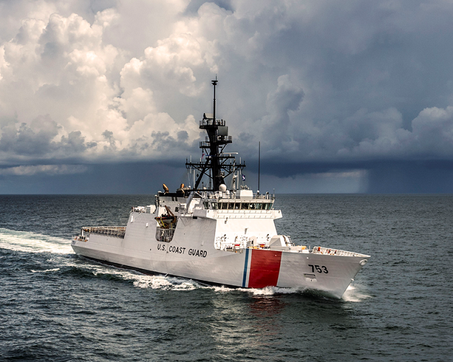 Huntington Ingalls Industries announced the successful completion of builder's sea trials for the company's fourth U.S. Coast Guard National Security Cutter, Hamilton (WMSL 753). The ship, built by HII's Ingalls Shipbuilding division, spent three full days at sea testing all of the ship's systems.
