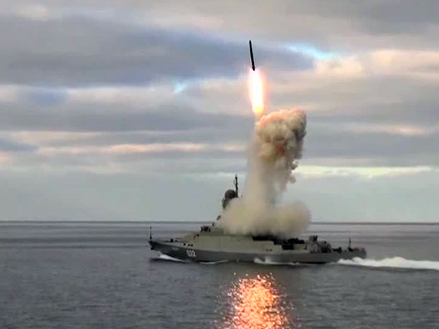 "On June 7, 2014, TV channel ""Russia-24"" covered Russian Navy Caspian Flotilla maneuvers, including a firing test of a vertically launched 3M-54 Klub (Nato designation SS-N-27 Sizzler) anti-ship missile from the Buyan-M corvette (Project 21631) ""Uglich""."