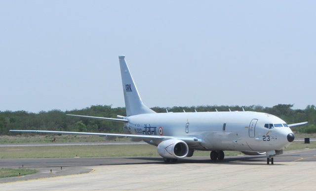 Boeing has delivered the fourth P-8I maritime patrol aircraft to India on schedule, fulfilling the first half of a contract for eight aircraft. The aircraft departed from Boeing Field in Seattle and arrived May 21 at Naval Air Station Rajali, where it joined three P-8Is currently undergoing operational evaluation.
