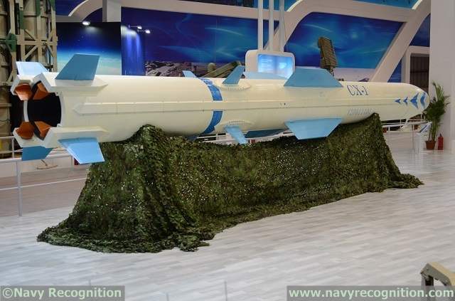CX-1 is fitted with stabilizer wings on its booster unlike Brahmos or Yakhont missiles. The booster is fitted with four jet vanes (painted in red).