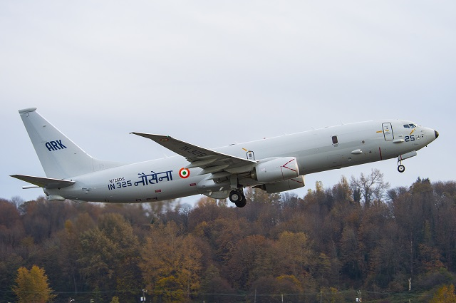 Boeing delivered the sixth P-8I maritime patrol aircraft to India, on schedule, on Nov. 24, arriving at Naval Air Station Rajali to join five others being used by the Indian Navy. The P-8I is part of a contract of eight awarded in 2009. The final two deliveries are scheduled for 2015.