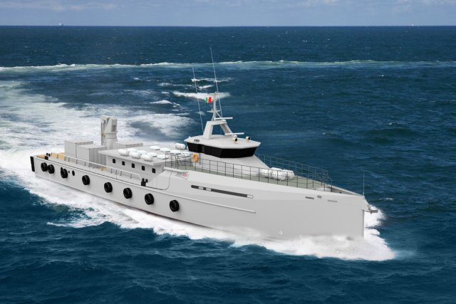 In August 2014 the Mexican Navy (Secretaría de Marina in Spanish) and Damen Shipyards Group (the Netherlands) signed contracts for the delivery of the design, material package, technical assistance and training for two vessels that will be built by the Mexican Navy, using the Damen Technical Cooperation programme, which enables customers to build their vessel on the location of their choice.