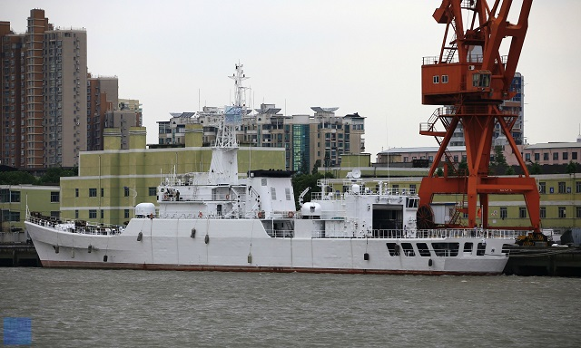 Recent spotter pictures from China show that the four Type 053H2G Frigates (NATO designation Jiangwei I) belonging to the People's Liberation Army Navy (PLAN or Chinese Navy) have been transfered to the China Coast Guard (CCG) and are being converted into patrol vessels.