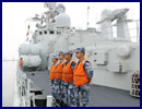 Seven People's Liberation Army Navy (PLAN or Chinese Navy) vessels on Saturday left east China's port city of Qingdao for the Sea of Japan where they will join Russian counterparts for a nine-day naval exercise. The drills, codenamed Joint Sea-2015 (II), will take place from Aug. 20 to 28 in the Peter the Great Gulf, waters off the Clerk Cape, and in and above the Sea of Japan. These maneuvers will for the first time involve a joint amphibious assault drill.