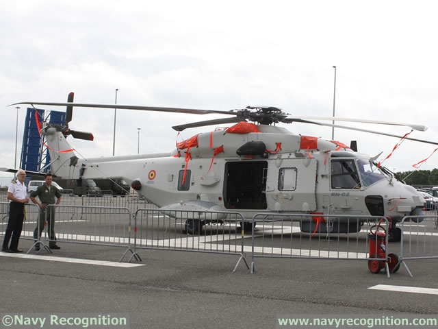 The Belgian Navy declared the Initial Operational Capacity (IOC) for its frist three NH90 NFH (Nato Frigate Helicopters) on Friday. The new generation maritime helicopters will eventually replace the 5 ageing Sea King Mk.48 by the end of 2018 for Search and Recuse (SAR) missions.