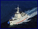 According to the People's Liberation Army Navy (PLAN or Chinese Navy) the third Type 052D (NATO reporting name Luyang III class) destroyer Hefei (hull number 174), was just commissioned on December 12 with China's South Sea Fleet. The vessel is now homeported at Yulin Naval Base located in the Yalong Bay (city of Sanya) on Hainan island.