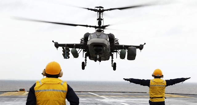 Russia has signed an agreement with Egypt for delivery of forty-six Kamov Ka-52K navalized attack helicopters, the Director General of the JSC Russian Helicopters holding company, Alexander Mikheyev, said on Wednesday. The Ka-52K Katran (Nato reporting name: Hokum-B) is the naval variant of the Ka-52 Alligator designed for the French-made Mistral LHDs which the Egyptian Navy recently acquired (and which were originally intended for the Russian Navy).