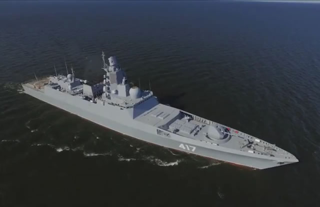 The Project 22350 frigate Admiral Gorshkov will join the Russian Navy only in 2016, Navy Deputy Commander-in-Chief for Armament Viktor Bursuk said on Friday. The frigate Admiral Gorshkov is the lead ship in the class of Project 22350 vessels.