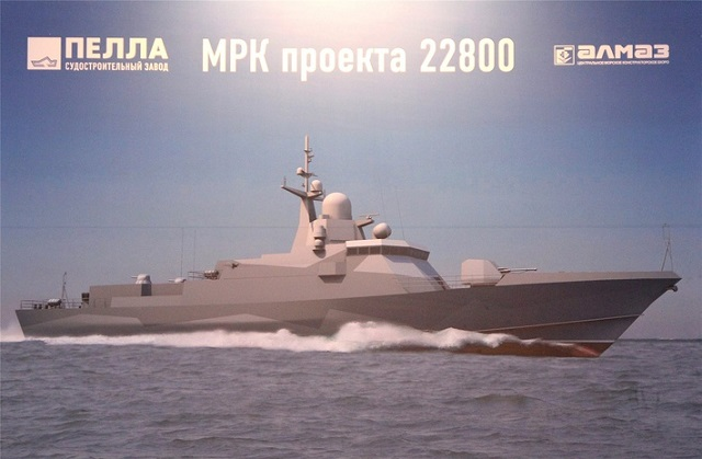 The third Project 22800 guided missile corvette has been laid down by the Federal State Unitary Enterprise «Shipyard «Morye» in Feodosiya, Crimea, according to a TASS correspondent. This has been the shipyard's first order placed by the Russian Defense Ministry after Crimea acceded to Russia.