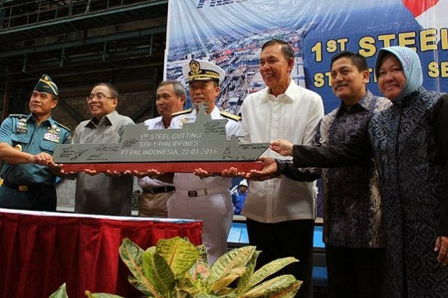 "PT PAL Indonesia held a ""First Steel Cutting Ceremony"" of the Strategic Sealift Vessel-1 (SSV) Landing Platform Dock in presence of the Chief of Staff of the Philippine Navy and other authorities. The Philippines Ministry of Defence ordered two SSVs from the Indonesian shipyard. Delivery of this unit is expected on the second quarter of 2016. The second and final delivery is set on 2017."