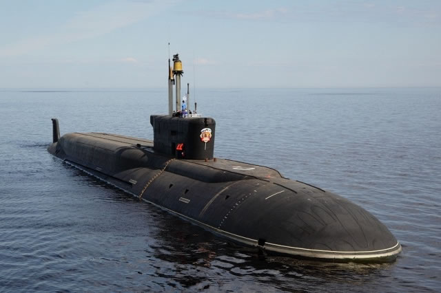 Russia's new Borei class strategic nuclear-powered submarine (Project 955 SSBN) Vladimir Monomakh completed the first voyage on Monday from Severodvinsk to the main base of the Northern Fleet's submarine forces at Gadzhiyevo in Northwest Russia in the Murmansk region. Spokesman for the Northern Fleet Vadim Serga told Russian state owned news agency TASS that the voyage passed normally.