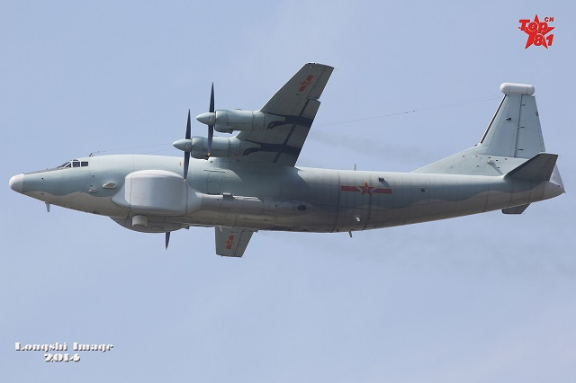 GX-3 / Y-8G EW Aircraft. At least Five GX-3 are operating with the PLAAF