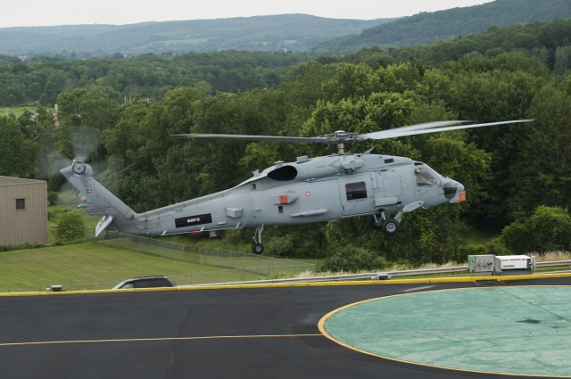 Denmark is one step closer to becoming the second international customer to have the U.S. Navy's MH-60R Seahawk helicopter in its inventory. The first two aircraft arrived at Lockheed Martin's Owego, New York facility for digital cockpit and integrated mission systems and sensors installation July 9 and are anticipated to be delivered to the US Navy later this yea (before transfer to the end customer).