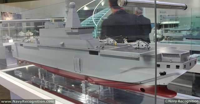 Fincantieri, one of the world's largest shipbuilding groups and reference player in the naval shipbuilding industry, and Finmeccanica, Italy's leading manufacturer in the high technology sector, have been awarded the contract for the construction and equipment of one multipurpose amphibious unit (LHD) for the Italian Navy. The total value of the contract is over 1.1 billion euros, with Fincantieri's share amounting to approx. 853 million euros and Finmeccanica's to about 273 million euros...