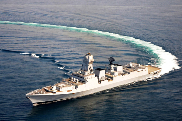 The Indian Navy announced its readiness to test the Barak-8 air and missile defense system. The missiles will be fired from the Indian Navy newest destroyer INS Kolkata sometime this summer, during the monson season. The goal is to qualify the system ahead of its deployement accross several vessels in the Indian Navy fleet.