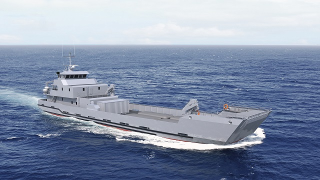 French Shipyard PIRIOU based in Concarneau (Brittany) has just won a contract with the Royal Moroccan Navy for a 50 meters LCT (Landing Craft Tank) which will be operated in the coastal waters of Morocco. This new unit will be built in France with delivery expected in mid-2016.