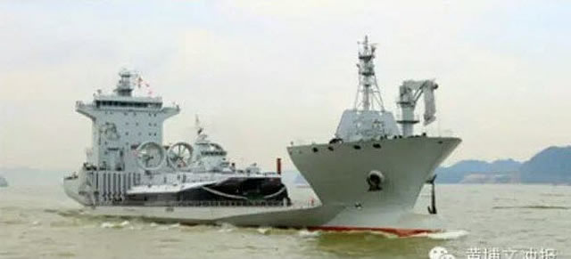 According to several local papers, the People's Liberation Army Navy (PLAN or Chinese Navy) received the first of a new class of vessels with allegedly similar capabilities as the US Navy's new Mobile Landing Platform or MLP. But how much do the two types really share in common ?
