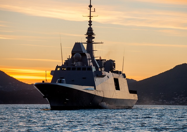The French Navy FREMM Frigate Provence in Toulon naval base. Picture: Y.Bisson©Marine Nationale