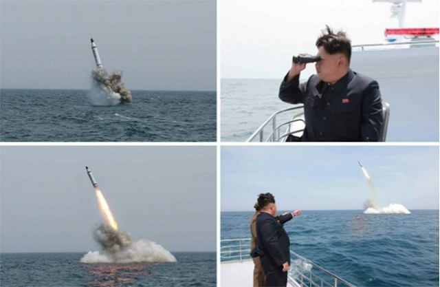 North Korea fired a submarine-launched ballistic missile (SLBM) off its east coast on Wednesday, off its east coast following the start of an annual South Korea-U.S. military exercise. This launch follows one that took place on July 9th this year. The missile was launched from waters near the port city of Sinpo at around 5:30 a.m., according to Yonhap news agency citing South Korea's Joint Chiefs of Staff (JCS).