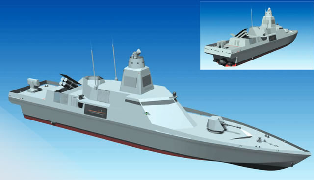 According to RMK Marine, the Fast Missile Craft was developed to have high sprint capability (in can reach speeds over 50 knots which is impressive for a vessel of this size) in order to carry out tasks of Anti-Surface Warfare, Anti-Piracy, Search and Rescue and Sea Lines of Communication Defence & Sea control missions in territorial waters and EEZ.
