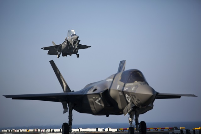 U.S. Navy & USMC planning for the 1st F-35B shipboard deployment within the next year