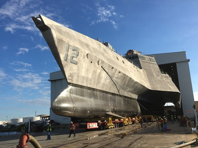 Austal has launched the twelfth Independence-class Littoral Combat Ship, the future USS Omaha (LCS 12), at its state-of-the-art ship manufacturing facility in Mobile, Alabama, on Friday 20th November 2015. This marks the third ship Austal USA has launched this year.