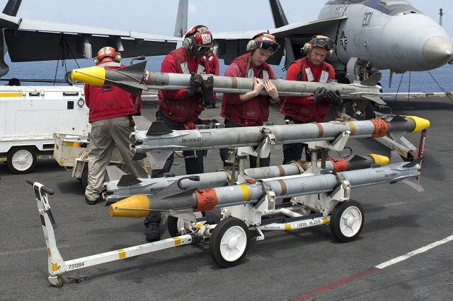 The U.S. Navy has awarded Raytheon Company a $291 million contract award for production of the AIM-9X Sidewinder® missile, one of the most advanced infrared-tracking, short-range, air-to-air and surface-to-air missiles in the world. The contract is for All Up Round Tactical Full Rate Production Lot 16 of the Block II missiles for the U.S. Navy, Air Force, Army and the governments of Japan, Norway and Taiwan.