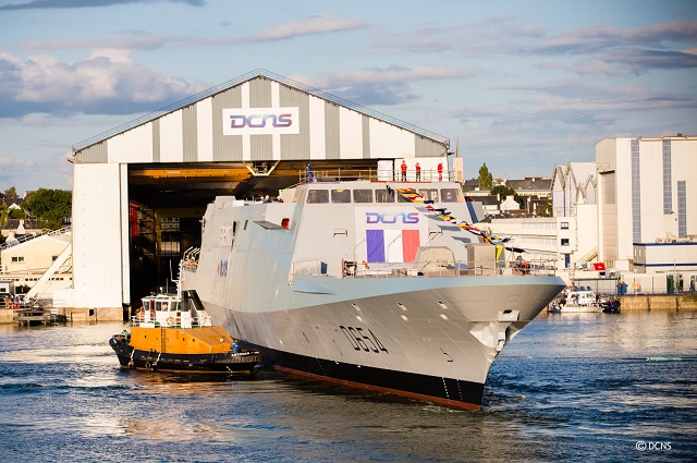 DCNS has floated the French Navy's FREMM multi-mission frigate Auvergne in Lorient. The achievement took place on 2 September and marks an important step in the construction of the most modern front-line ship of the 21st century. The FREMM Auvergne is the sixth frigate in the programme and fourth of the series ordered by OCCAr on behalf of the DGA (the French defence procurement agency) for the French Navy.