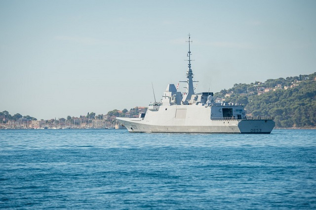"On 12 August 2016, the FREMM frigate Languedoc, the latest addition to the French Navy (Marine Nationale) fleet departed Toulon naval base for her long cruise. The long cruise is the last long deployment period of the vessel before it achieves ""active duty"" status. For her long cruise, Languedoc is sailing to the North Atlantic and eventually in the Arctic region. Languedoc is the third frigate of the Aquitaine-class for the French Navy."