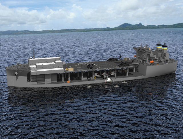 "On Tuesday, August 2, General Dynamics NASSCO hosted a keel laying ceremony for the future USNS Hershel ""Woody"" Williams, the U.S. Navy's second Expeditionary Sea Base (ESB) currently under construction at the company's San Diego shipyard."