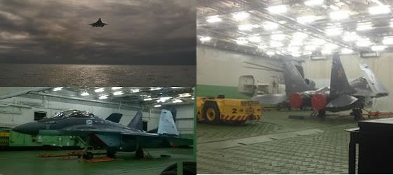 A Mikoyan MiG-29K (NATO reporting name: Fulcrum) fighter jet from the Northern Fleet's 100th Separate Shipborne Fighter Air Regiment has landed on the aircraft carrier Admiral Kuznetsov's deck for the first time, a source in Russia's defense and industrial sector said.