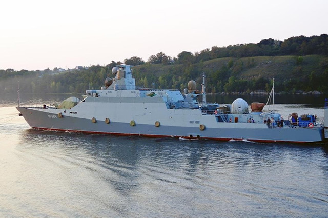 The Gorky Shipyard in Zelenodolsk floated the sixth small missile boat of project 21631 (Buyan-M code) named Vyshni Volochek, a source in the military-defense complex said.