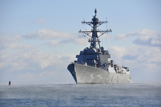US Navy Commissions its 2nd DDG 51 Flight IIA Restart - USS Rafael Peralta DDG 115