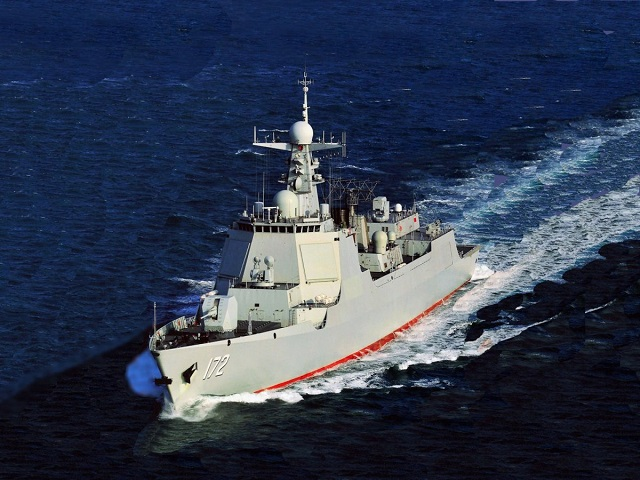 Type 052D Destroyer PLAN China