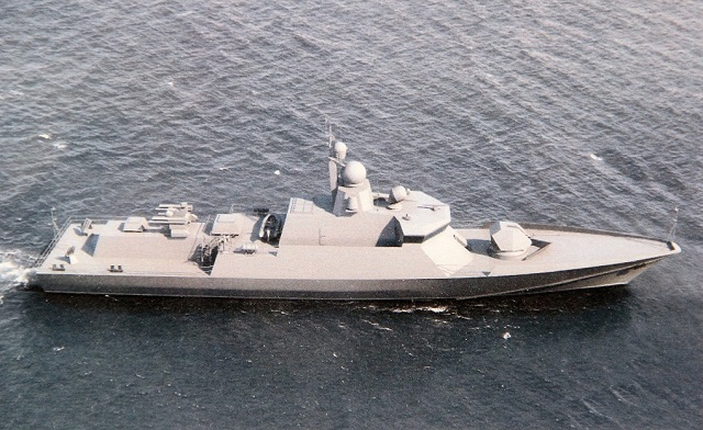 Russian Design Bureau Offers Project 22800E Corvette with Western Systems