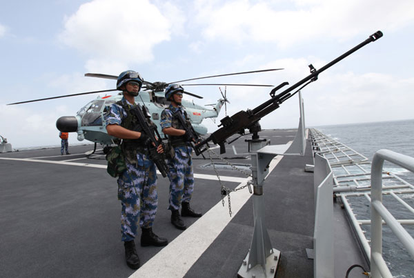 China's first overseas naval logistics support outpost-expected to be built in Djibouti-is needed to handle difficulties encountered by Chinese peacekeeping fleets, the Foreign Ministry told China Daily on Thursday. The ministry's remarks came after senior Djibouti officials and Chinese experts said some media reports about the outpost had been unnecessarily hostile.