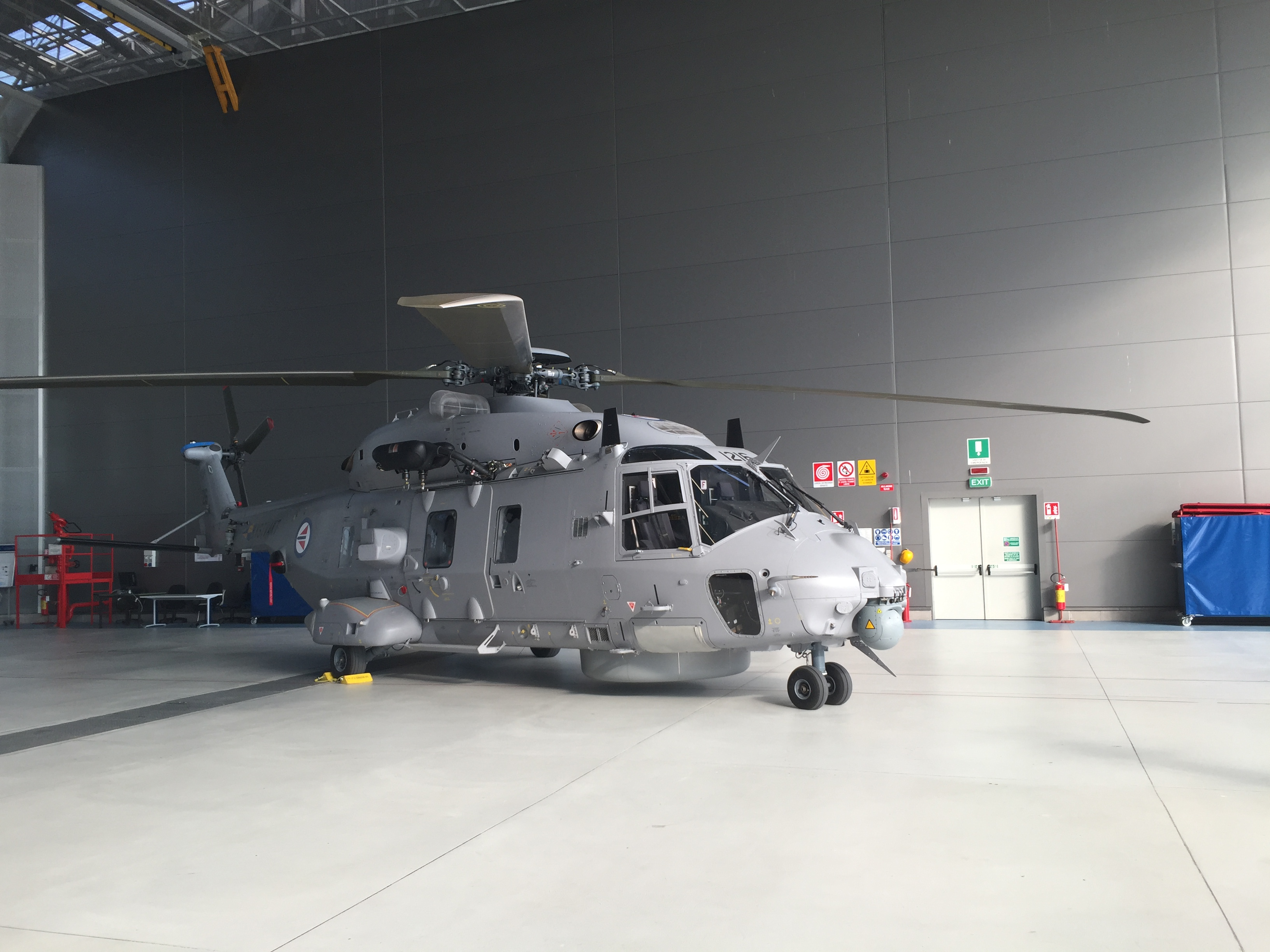NHI successfully completed the test campaign of the self-protection suite of the Norwegian NH90. The aircraft NH90 NNWN01 prototype was manned by Finmeccanica Helicopter Division flight test team (Test Pilot Roger Mowbray and Flight Test Engineer Fabrizio Santarossa) and supported by a multi-national, multi-disciplined team from several organisations.