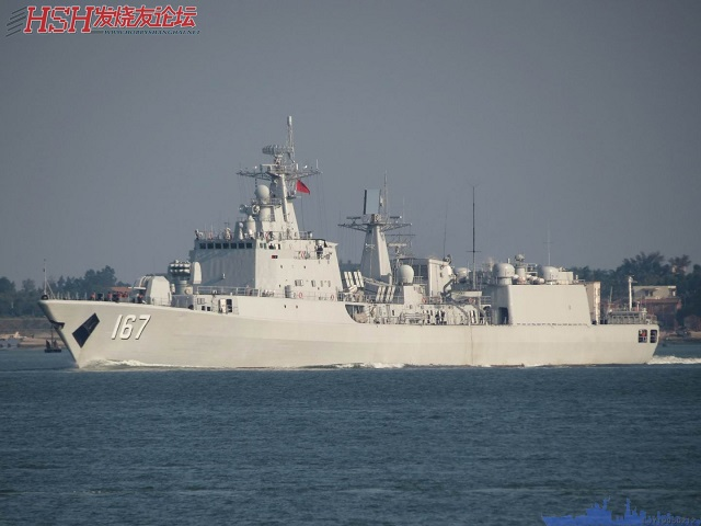 The 6,000 tonne Type 051B Shenzhen was laid down in 1996 at Dalian shipyard, commissioned in 1998, and was then the largest surface combatant that China had ever built.
