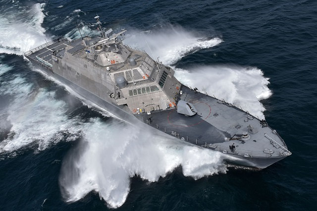 "Within the Littoral Combat Ship Program (LCS), the consortium consisting of Fincantieri, through its subsidiary Fincantieri Marinette Marine (FMM), and Lockheed Martin Corporation, has delivered ""Detroit"" (LCS 7) to the US Navy at FMM's shipyard in Marinette, Wisconsin."