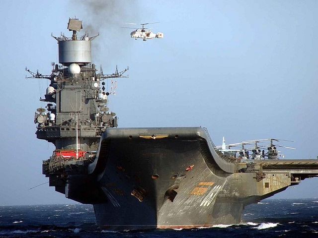 Work to repair Russia's Project 11435 aircraft carrier Admiral Kuznetsov will start next year, Russian Navy Deputy Commander-in-Chief for Armament Vice-Admiral Viktor Bursuk told TASS. The ship is expected to be repaired at the Zvyozdochka Shipyard in Severodvinsk in north Russia, Bursuk added.