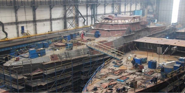 Project 22160 Bykov-class patrol ship - Page 6 Project_22160_Patrol_Ship_under_construction