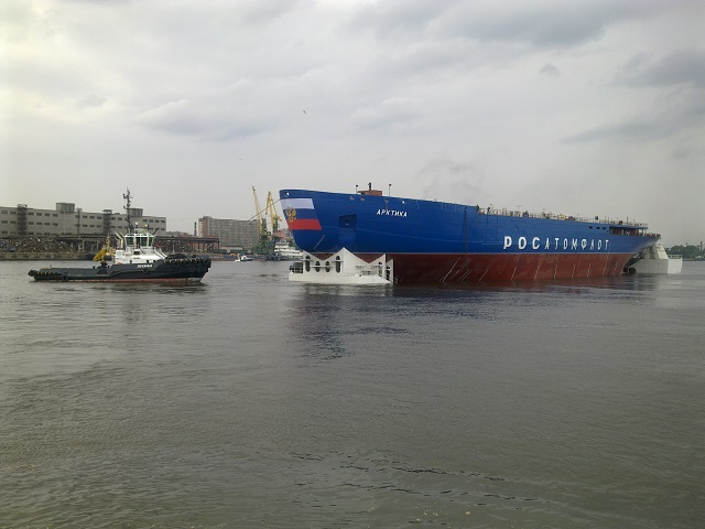 "The Baltic Fleet in St. Petersburg in northwest Russia has floated out the nuclear-powered icebreaker Arktika, a TASS correspondent reports from the scene. ""The ceremony of floating out the icebreaker Arktika is a great achievement,"" Head of Russia's nuclear power corporation Rosatom Sergei Kiriyenko said. ""We can say today that this nuclear-powered icebreaker will be able to join Rosatomflot Company by the end of 2017,"" he added."