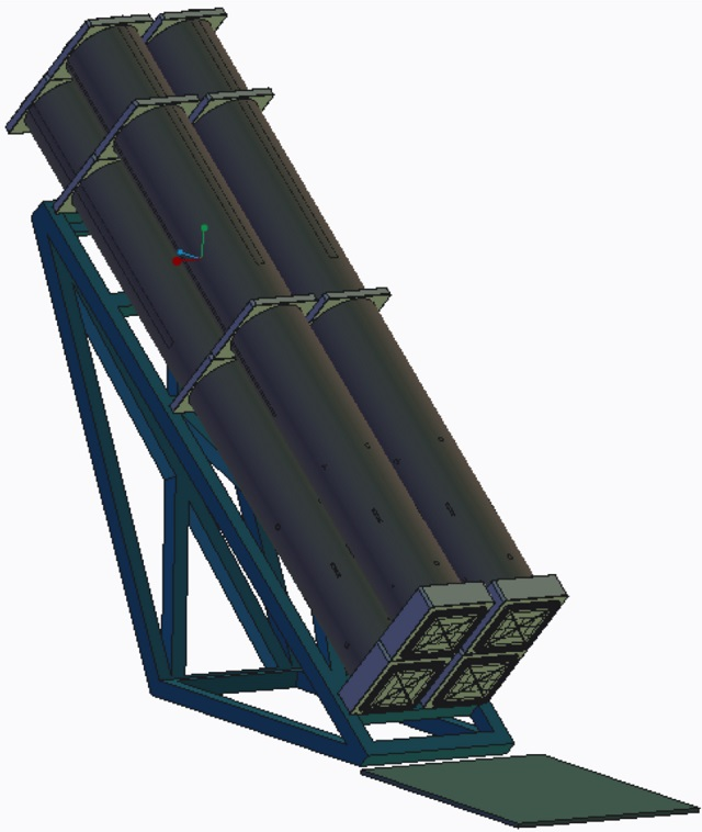 "Lockheed Martin supplied Navy Recognition with the first image showing a deck-mounted quadruple Long Range Anti-Ship Missile (LRASM) launcher. According to our source, this ""top side"" launcher graphic is a notional concept that could be used on an appropriately sized surface vessel, such as the Arleigh Burke class (DDG 51) or Littoral Combat Ship (LCS) classes."