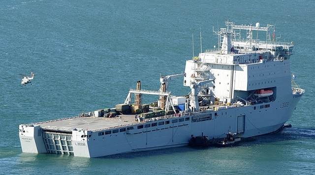 British Prime Minister has announced that naval ship Mounts Bay will support the international response to the migrant crisis in the Aegean Sea. As the Prime Minister attends an EU summit on the migration crisis, the Royal Navy is deploying amphibious landing ship royal fleet auxiliary (RFA) Mounts Bay alongside 2 border force cutters to join the NATO mission in the Aegean Sea that aims to reduce the flow of migrants from Turkey to Europe.