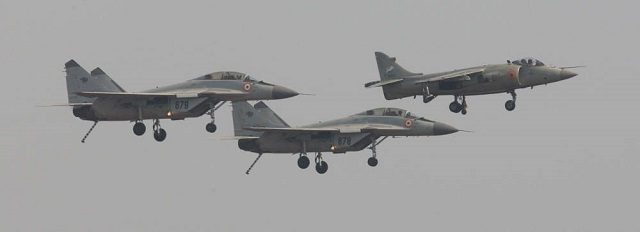 The Indian Navy has replaced all of its venerable British-made Sea Harrier carrierborne fighters with Russian-built Mikoyan MiG-29Ks (NATO reporting name: Fulcrum-D) in a ceremony at Indian Naval Station Hansa in Goa state on the southwest coast of India, according to the Indian Navy's press office.