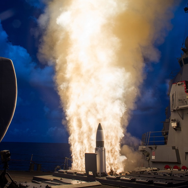 Raytheon and MDA SM-3 flight test validates rocket motor ...
